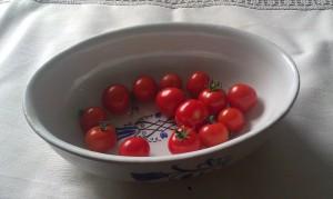 Äntligen egna tomater!